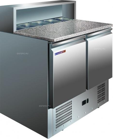 Стол для пиццы PS 900 с охлаждаемой столешницей