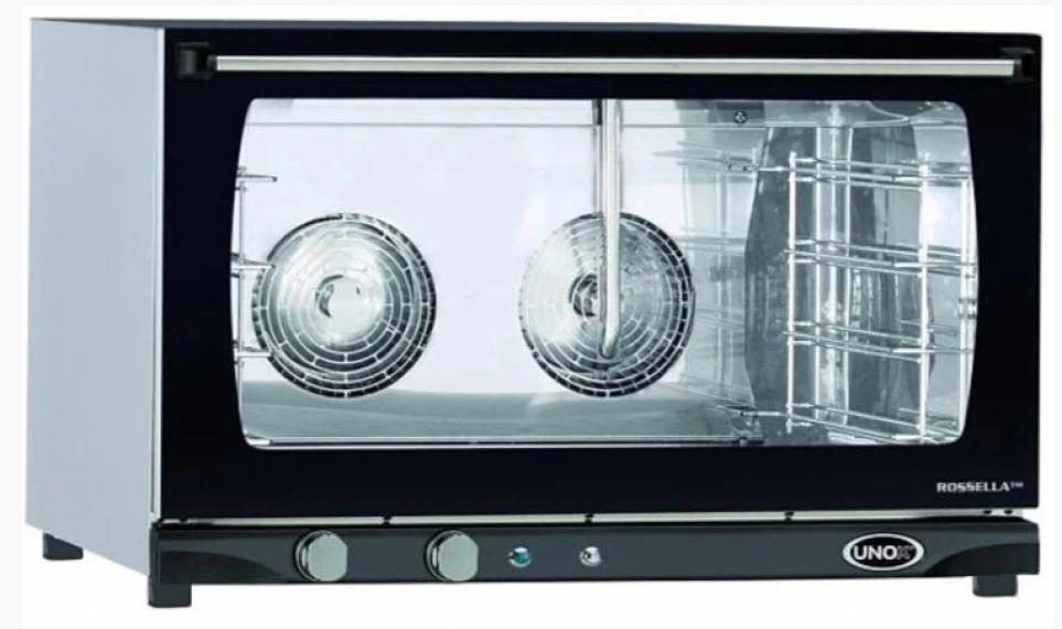 Печь конвекционная UNOX XFT 193 MANUAL H (шкаф пекарский) на 4 уровня 400х600 с пароувлажнением