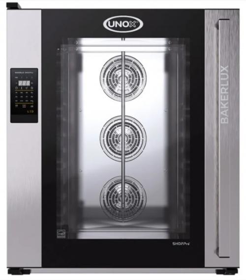 Печь конвекционная UNOX XEFT-10EU-ELRV (шкаф пекарский) на 10 листов 600х400 с пароувлажнением
