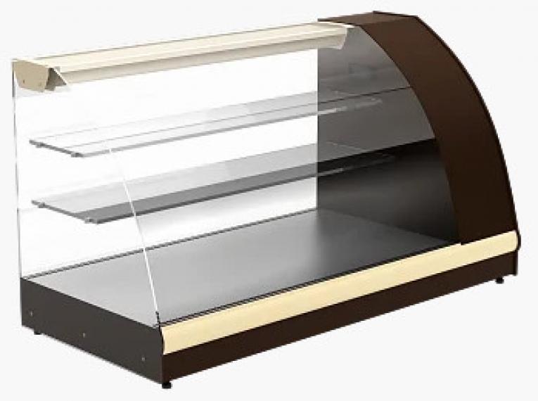 Витрина холодильная настольная ВХС-1,2 Арго XL (brown&beige)