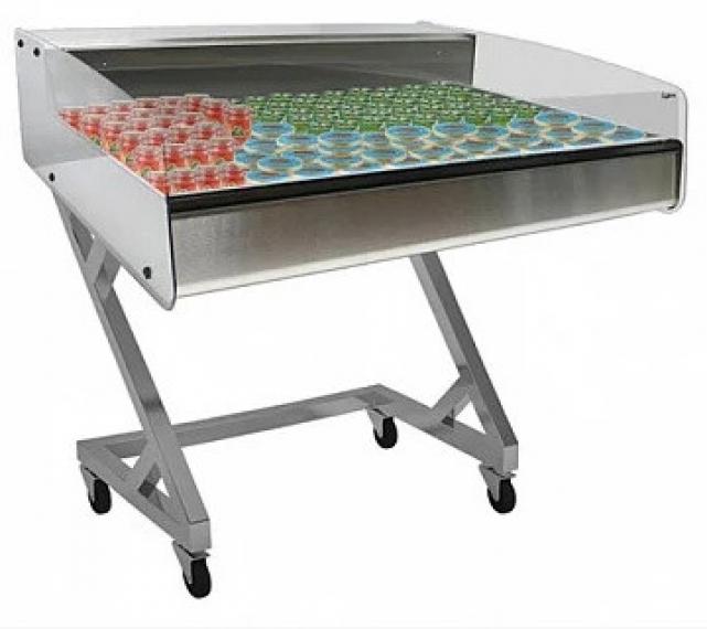 Витрина холодильная настольная для икры и пресервов ВХСр-1,0 Арго XL Техно-self